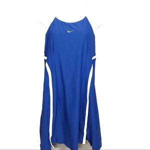 Nike Drifit Racerback Mesh Tennis Dress